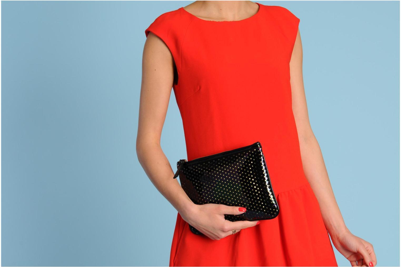 Mini Bags Sonia Rykiel CLAUDE Pochette schwarz ansicht von oben