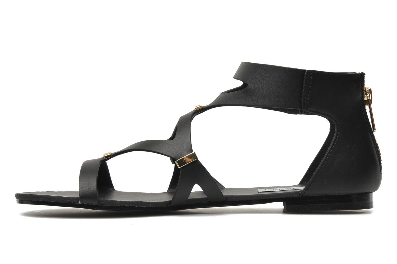 Sandales et nu-pieds Steve Madden COMMA Noir vue face