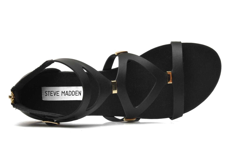 Sandales et nu-pieds Steve Madden COMMA Noir vue gauche