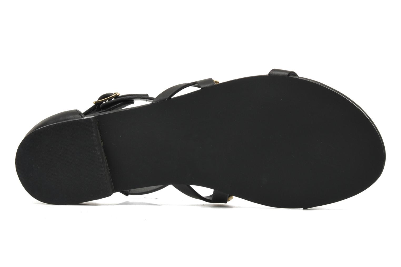 Sandales et nu-pieds Steve Madden COMMA Noir vue haut
