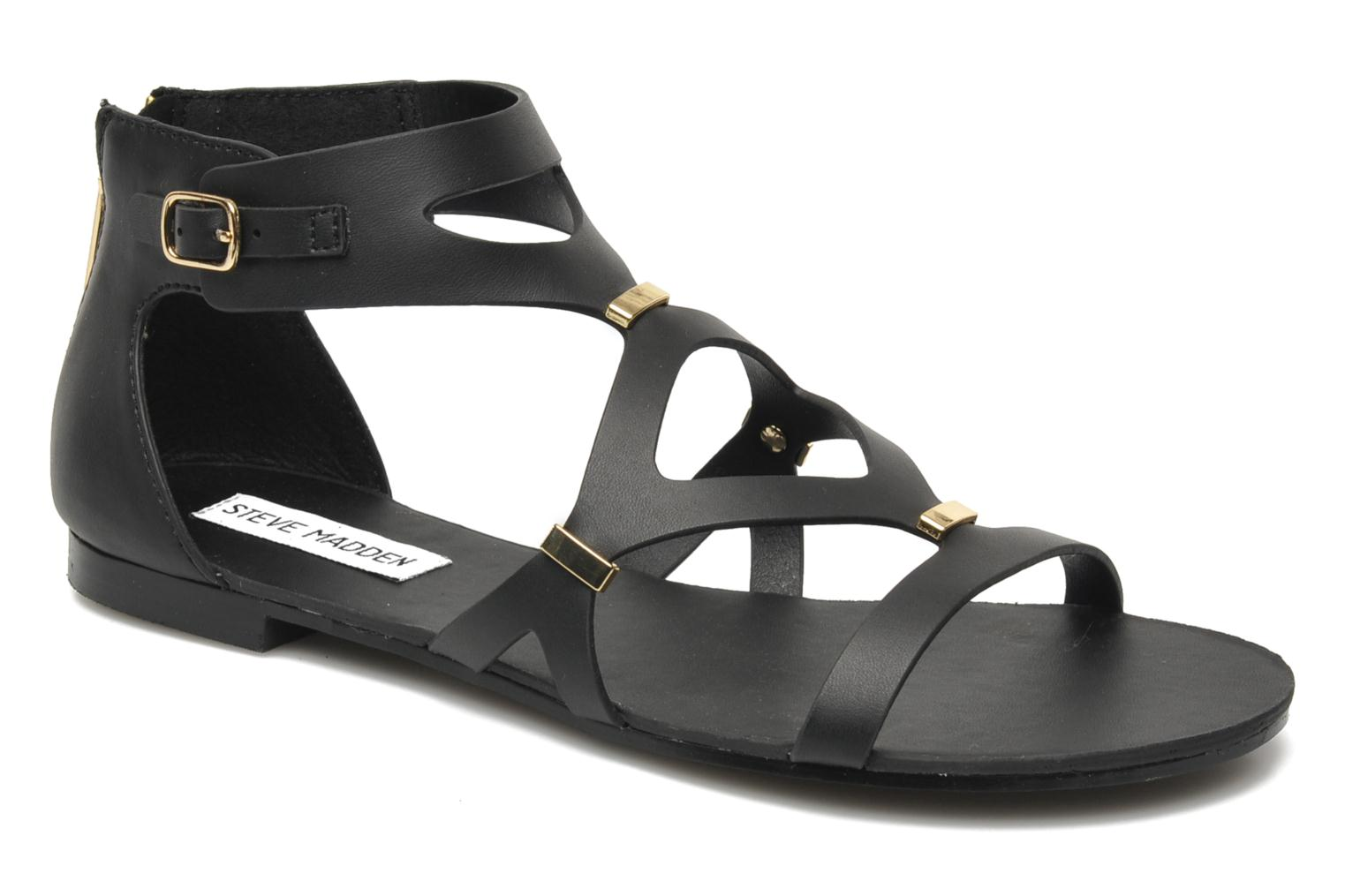 Sandals Steve Madden COMMA Black detailed view/ Pair view