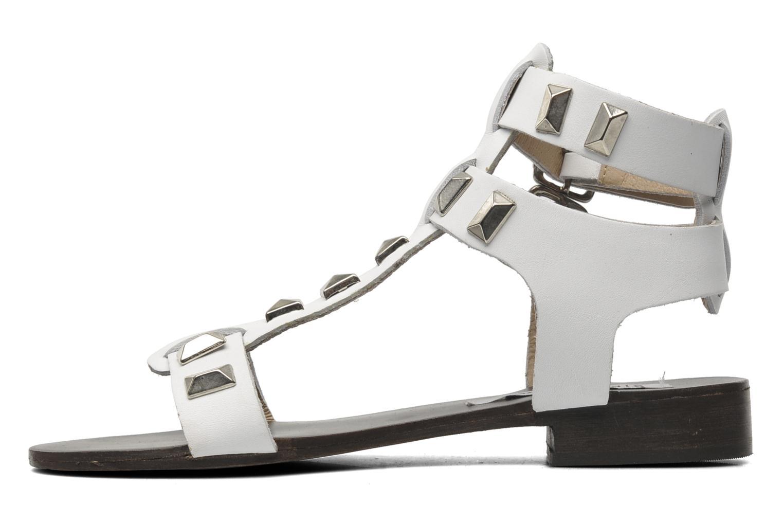 Sandales et nu-pieds Steve Madden PERFECK Blanc vue face