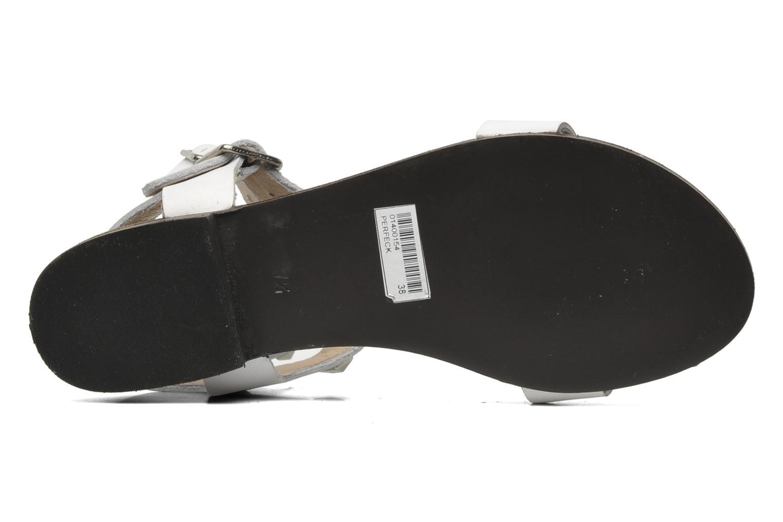 Sandales et nu-pieds Steve Madden PERFECK Blanc vue haut