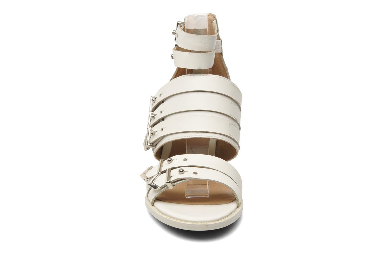 Sandales et nu-pieds Shellys London VALVORI Blanc vue portées chaussures