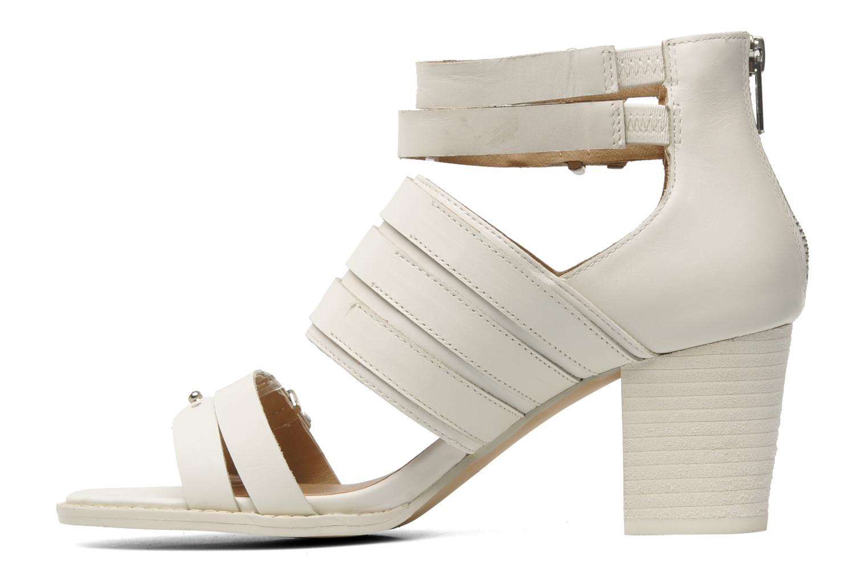 Sandales et nu-pieds Shellys London VALVORI Blanc vue face