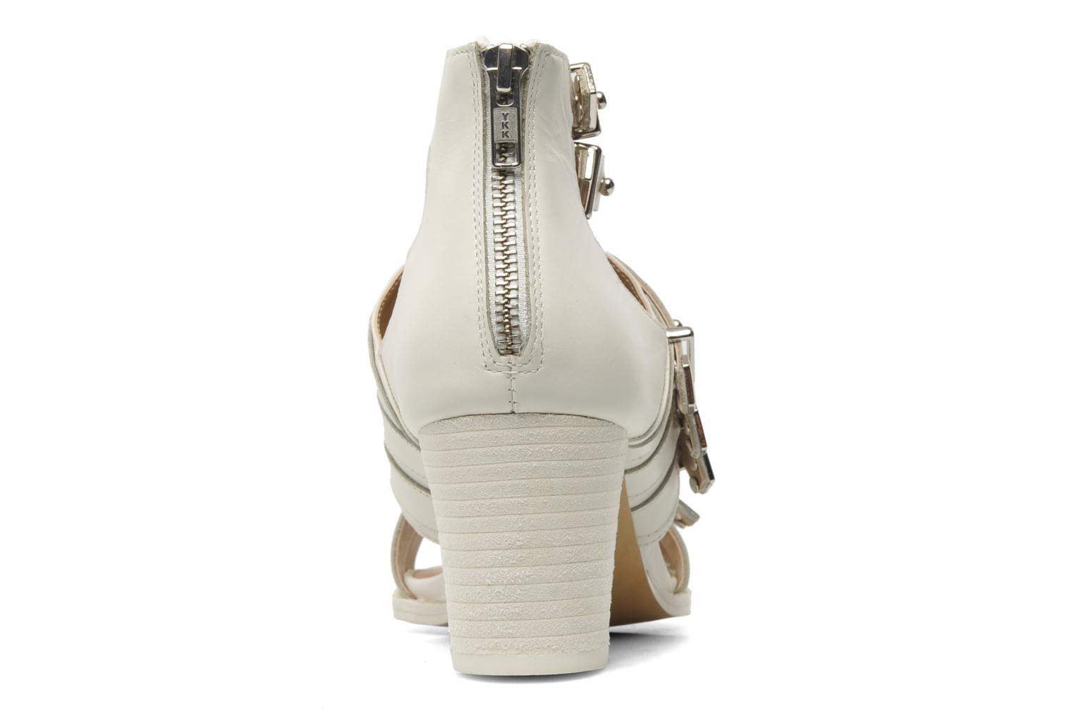 Sandals Shellys London VALVORI White view from the right