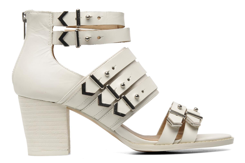 Sandales et nu-pieds Shellys London VALVORI Blanc vue derrière