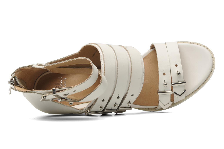 Sandales et nu-pieds Shellys London VALVORI Blanc vue gauche