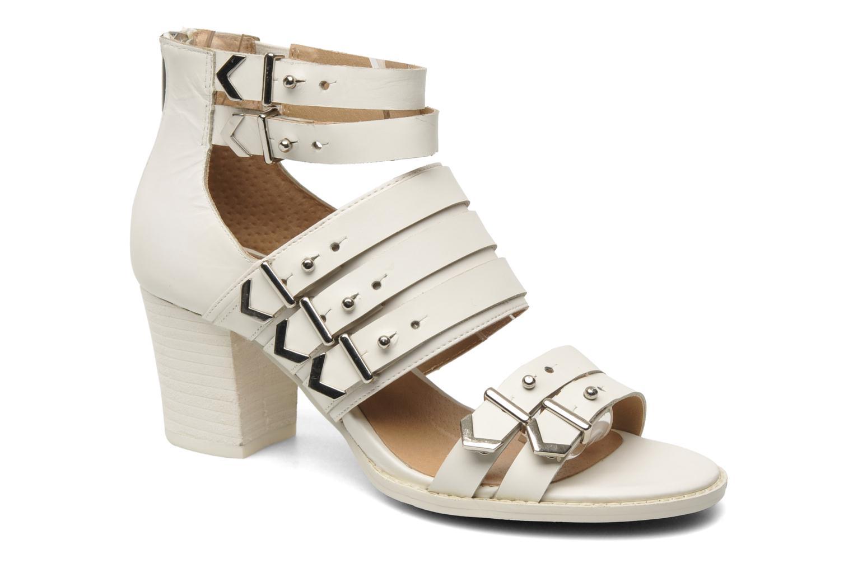 Sandales et nu-pieds Shellys London VALVORI Blanc vue détail/paire