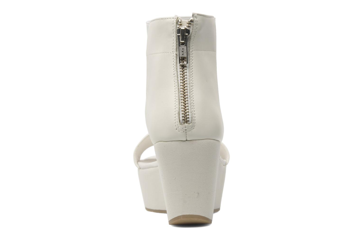 Sandals Shellys London MAGNI White view from the right
