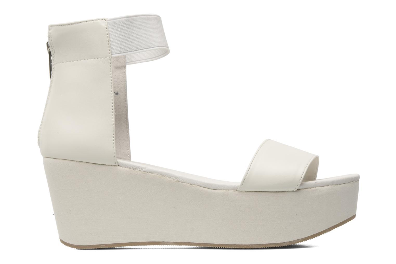 Sandals Shellys London MAGNI White back view