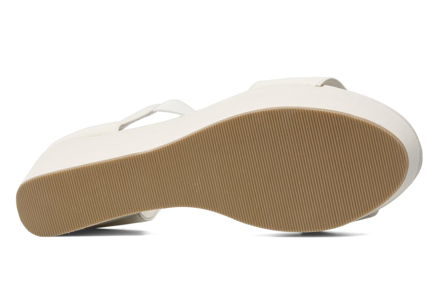 Sandals Shellys London MAGNI White view from above