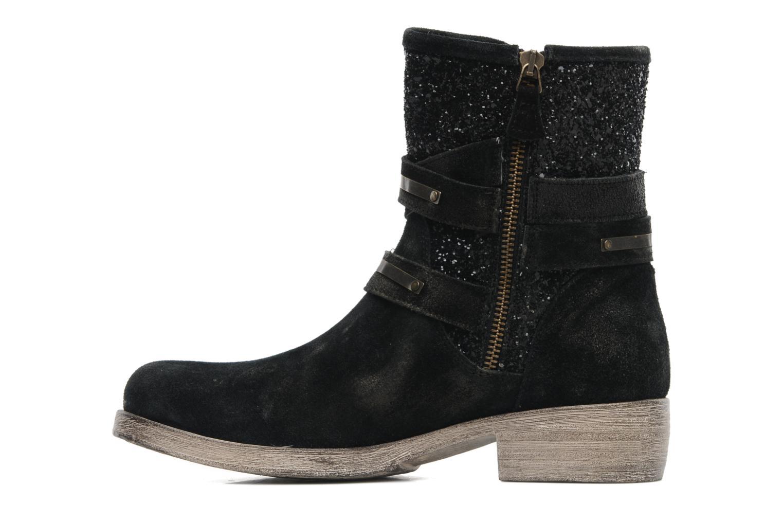 Bottines et boots Méliné Coton Noir vue face
