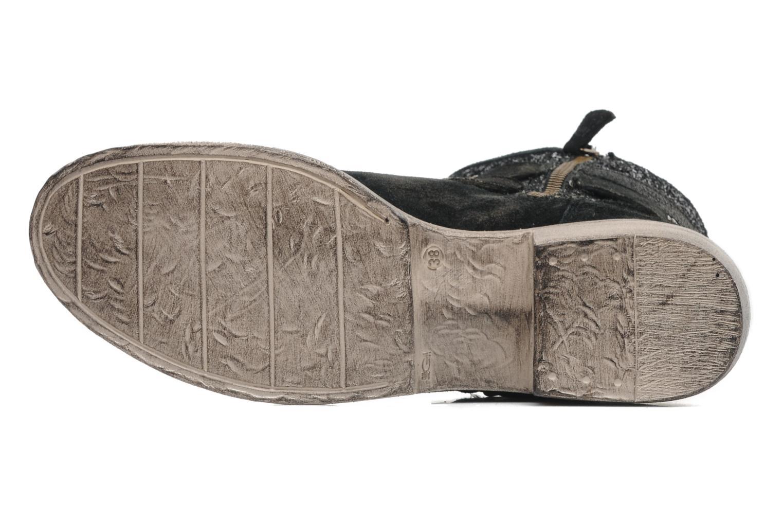 Bottines et boots Méliné Coton Noir vue haut
