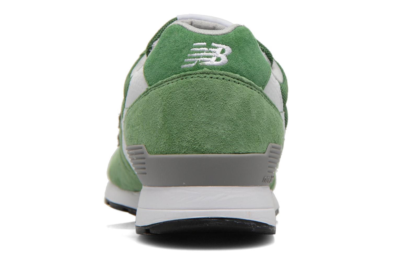 Baskets New Balance MRL996 Vert vue droite
