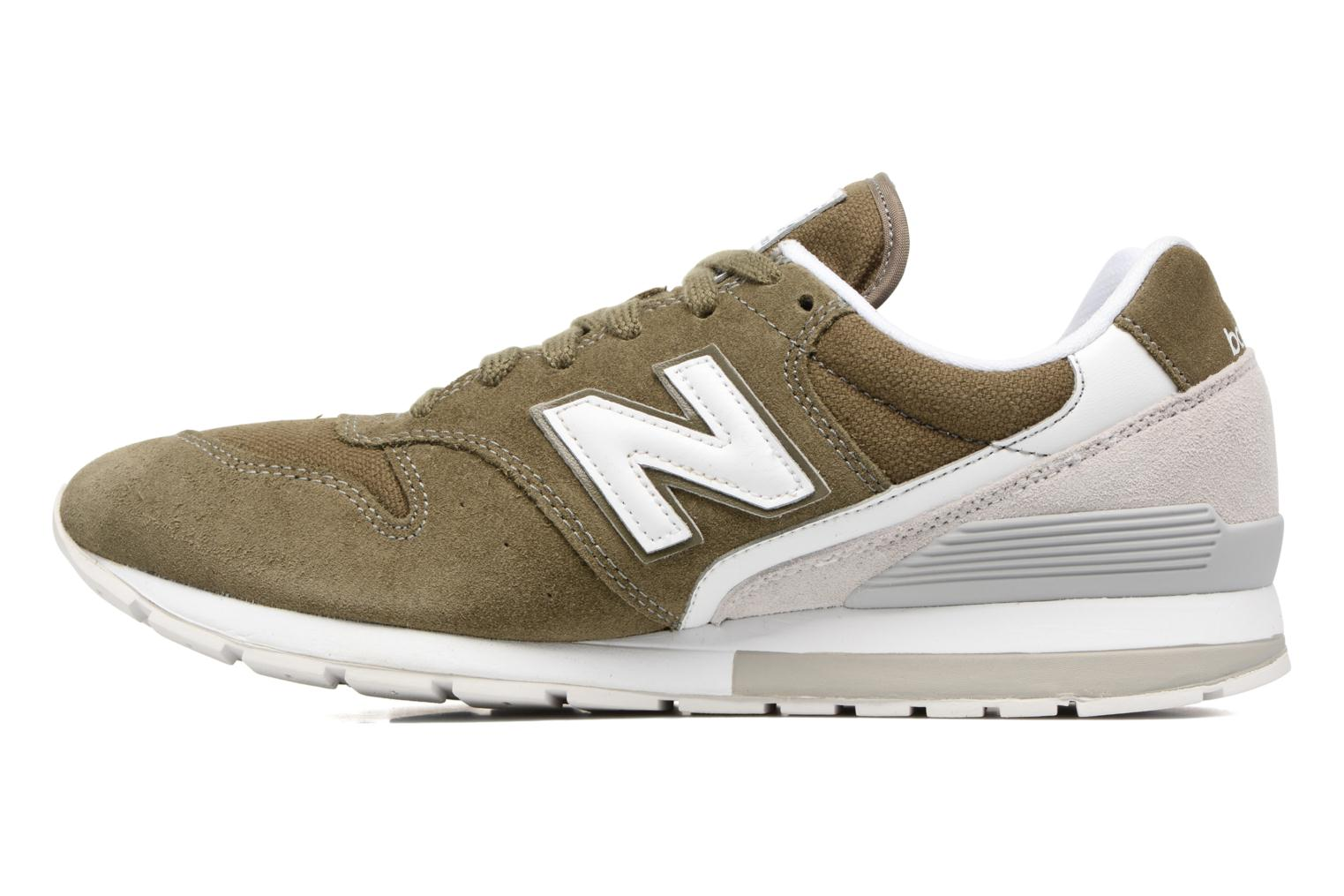 Trainers New Balance MRL996 Green front view