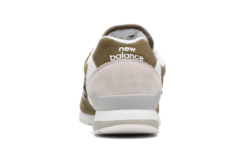 Sneaker New Balance MRL996 grün ansicht von rechts