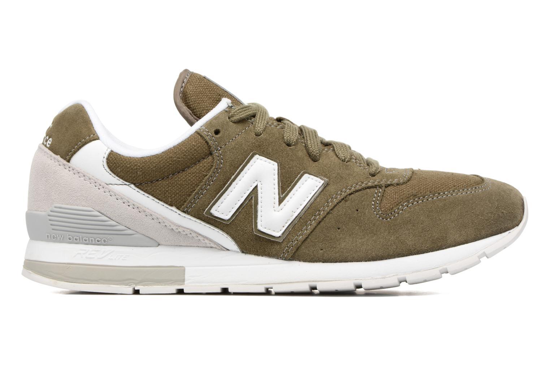 Sneaker New Balance MRL996 grün ansicht von hinten
