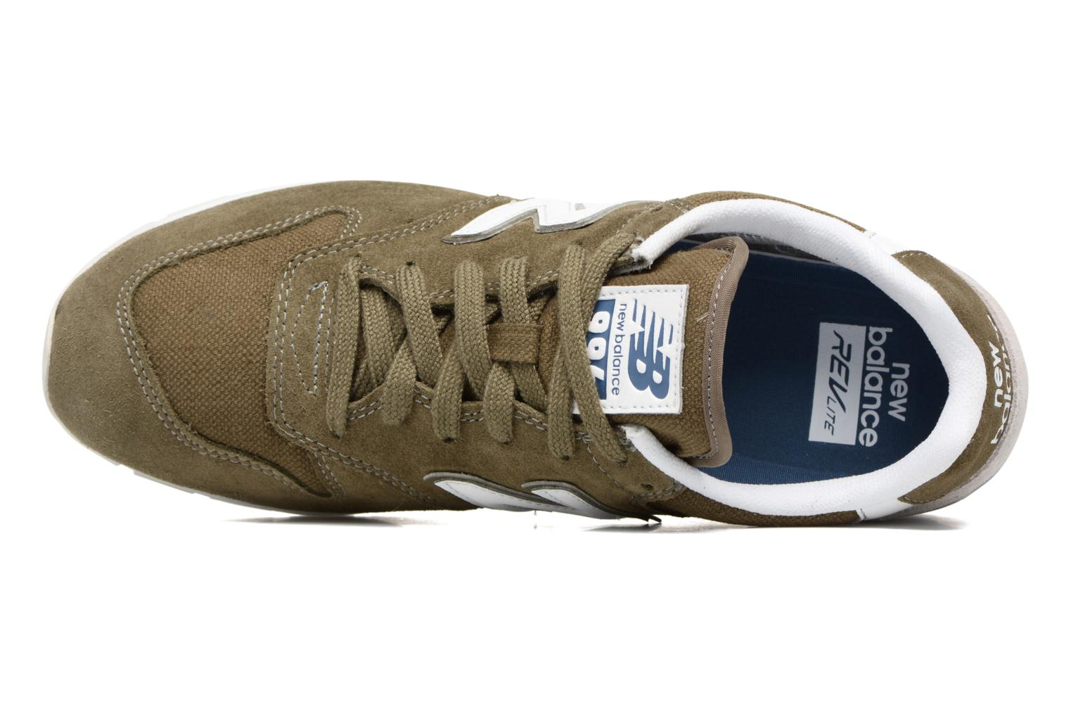 Trainers New Balance MRL996 Green view from the left