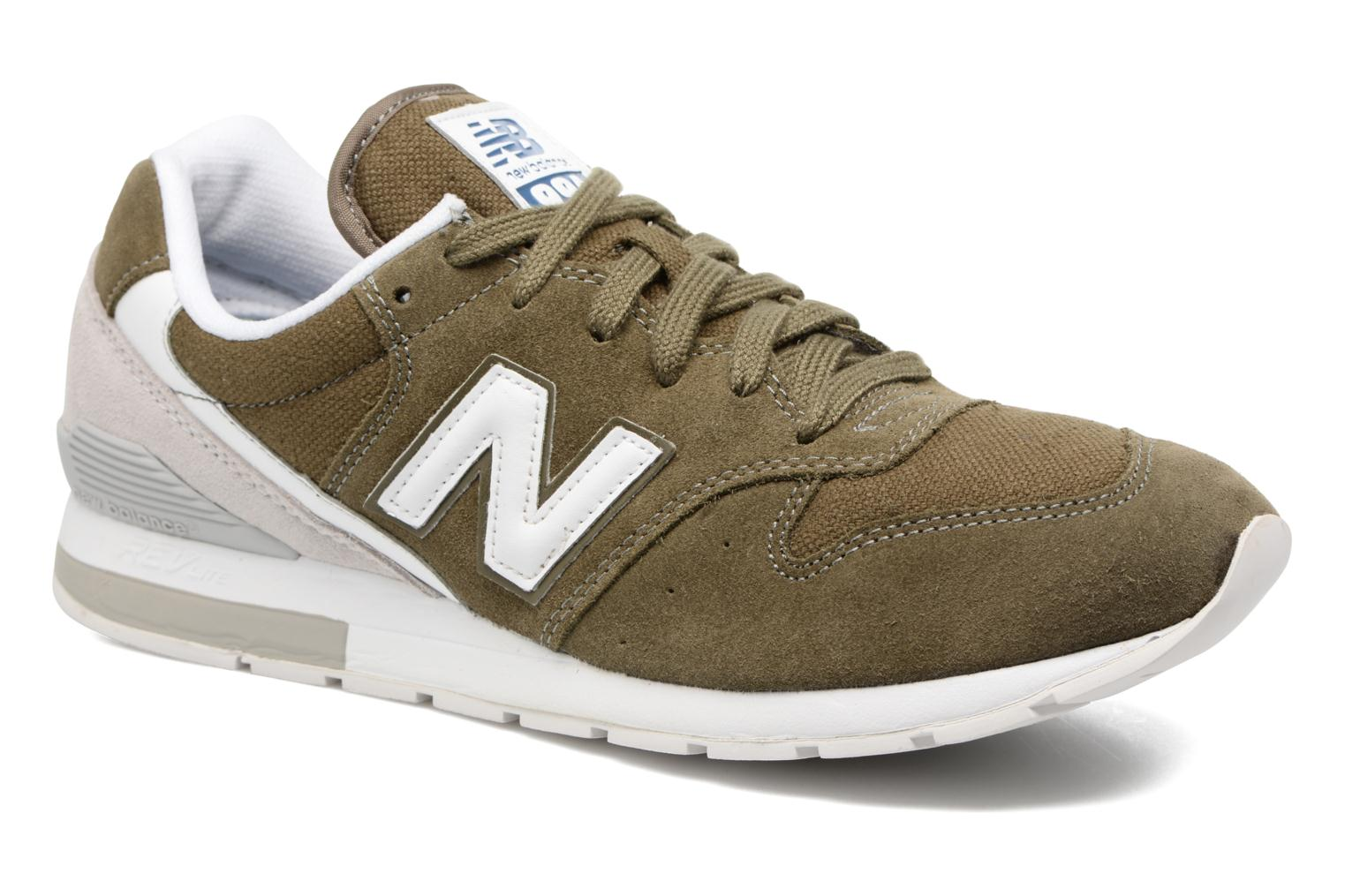 Trainers New Balance MRL996 Green detailed view/ Pair view