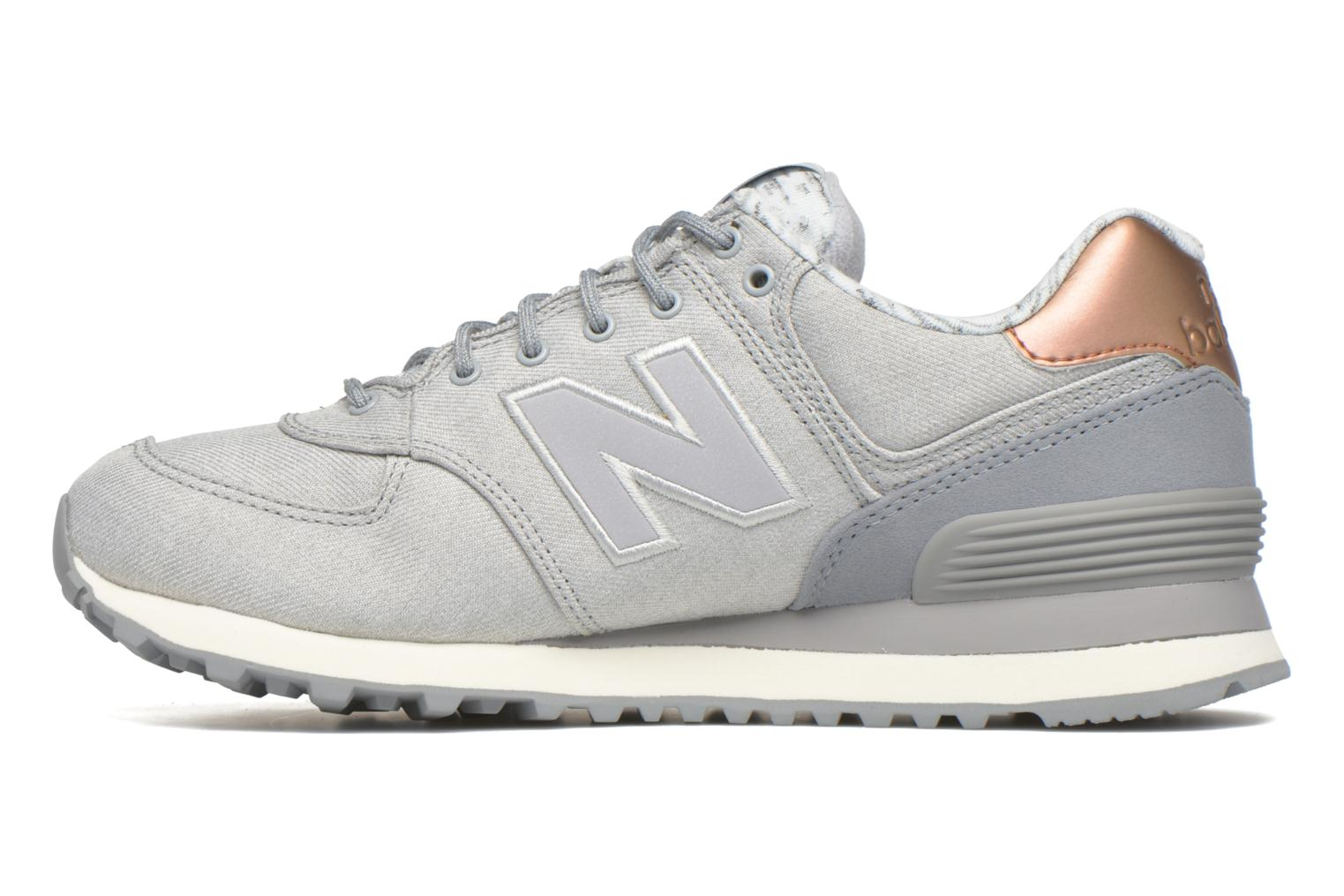 Multi Colors New Balance WL574 (Or et bronze)