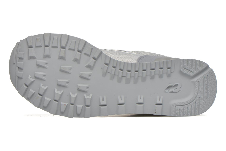 Sneaker New Balance WL574 grau ansicht von oben