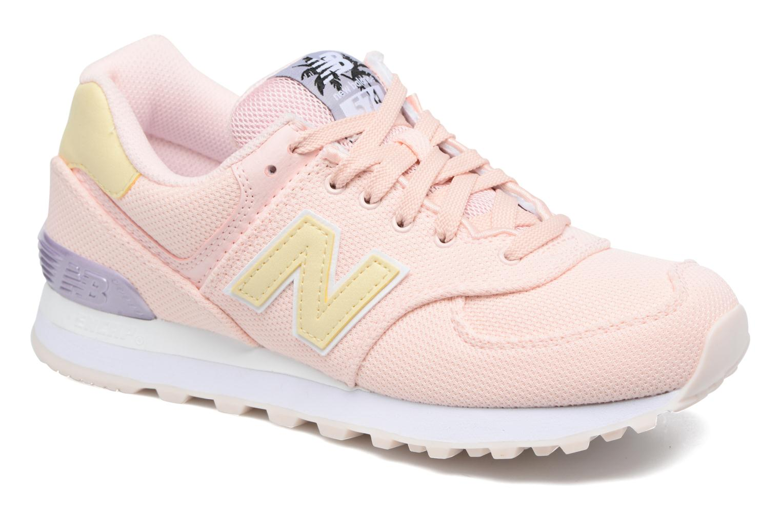 new balance wl574 rose