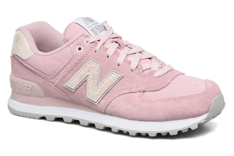 Sneakers New Balance WL574 Rosa vedi dettaglio/paio
