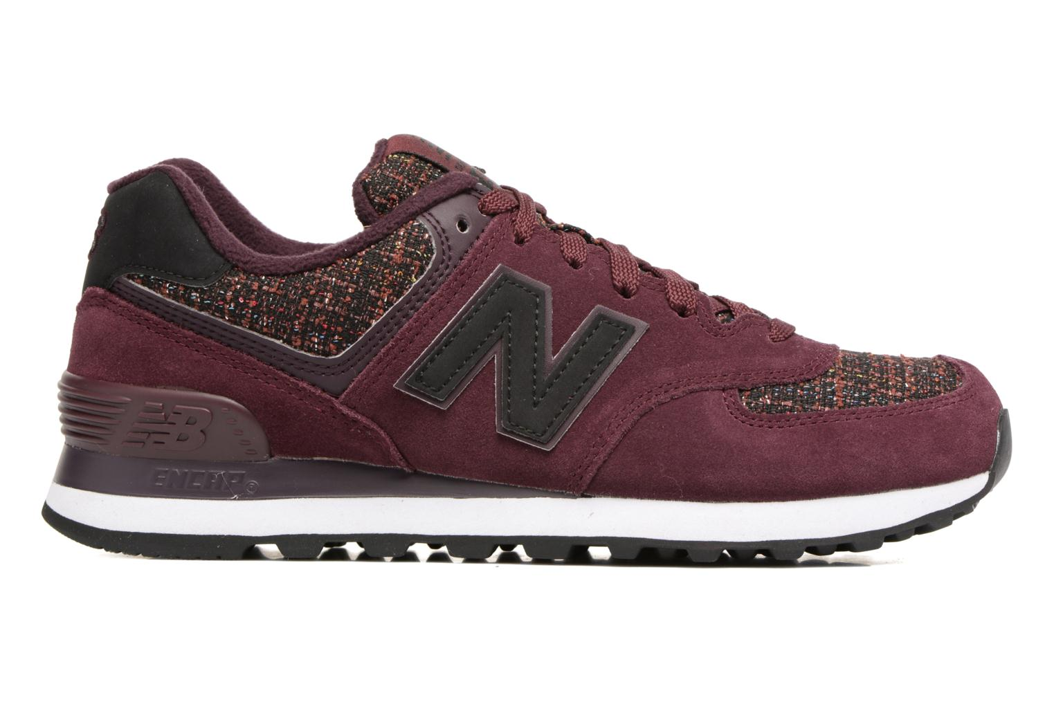 Sneakers New Balance WL574 Bordeaux achterkant