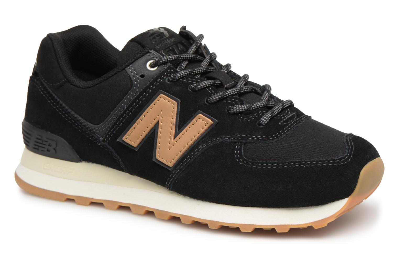 Zapatos promocionales New Balance WL574 (Negro) - Deportivas   Venta de liquidación de temporada