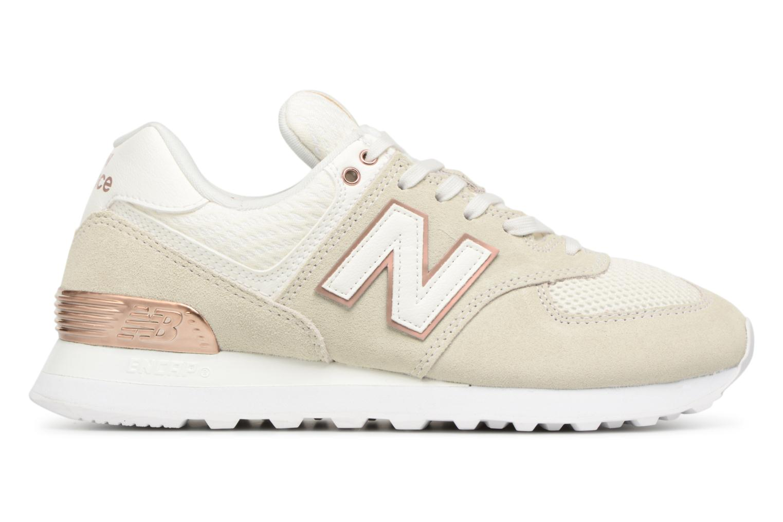 Sneakers New Balance WL574 Beige achterkant
