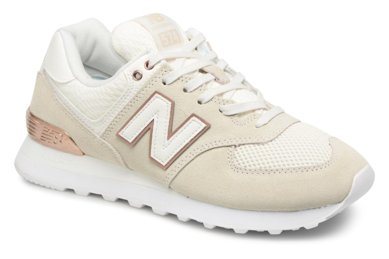 Sneakers New Balance WL574 Beige detail