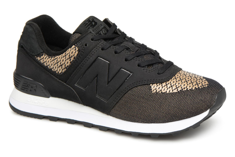 Grandes descuentos últimos zapatos New Balance WL574 (Negro) - Deportivas Descuento
