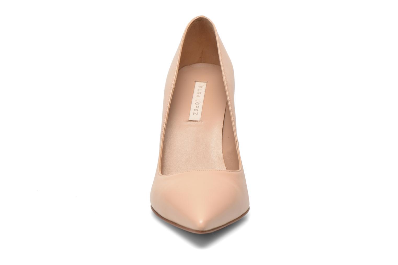 Escarpins Pura Lopez Astoria Beige vue portées chaussures