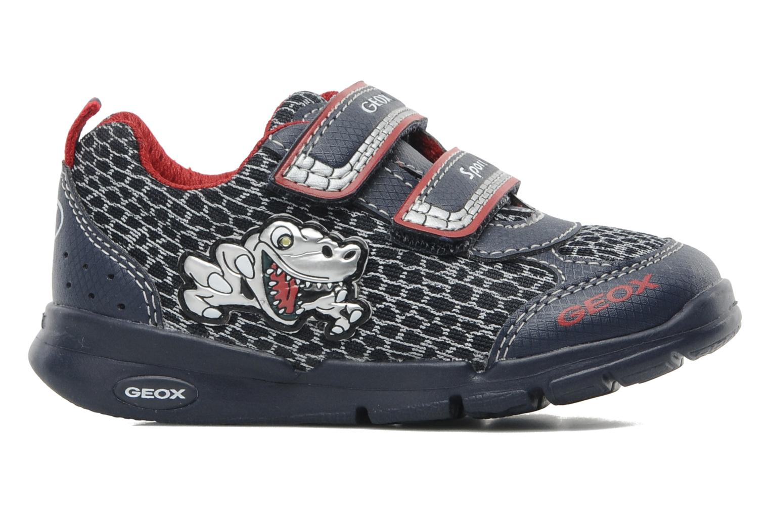 B RUNNER BOY Navy/silver