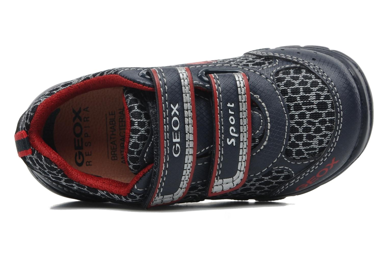 Sneakers Geox B RUNNER BOY Blauw links