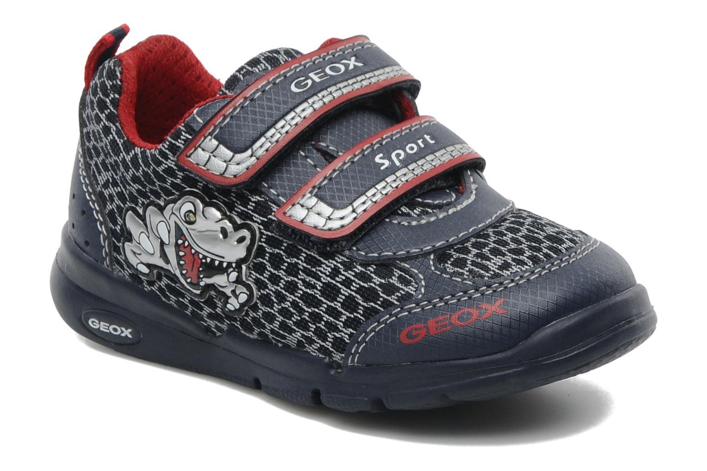Sneakers Geox B RUNNER BOY Blauw detail