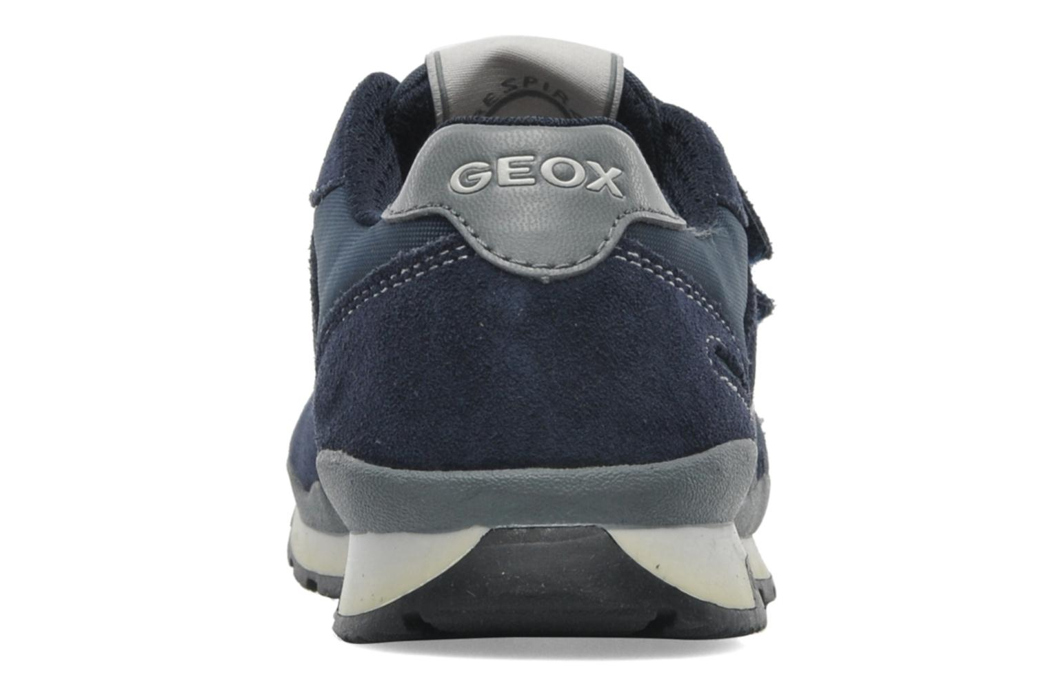 Sneakers Geox J PAVEL A Blauw rechts