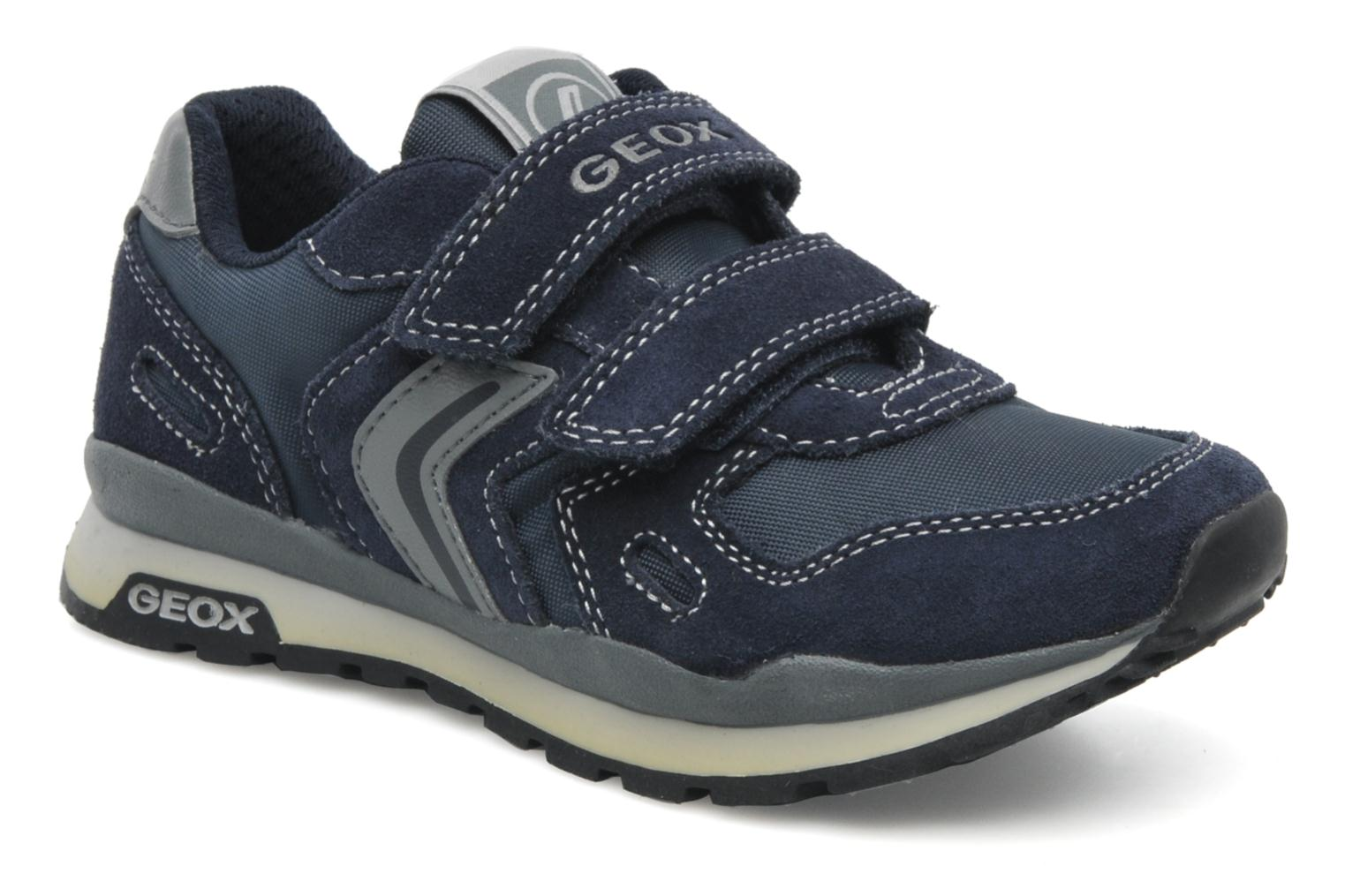 Sneakers Geox J PAVEL A Blauw detail