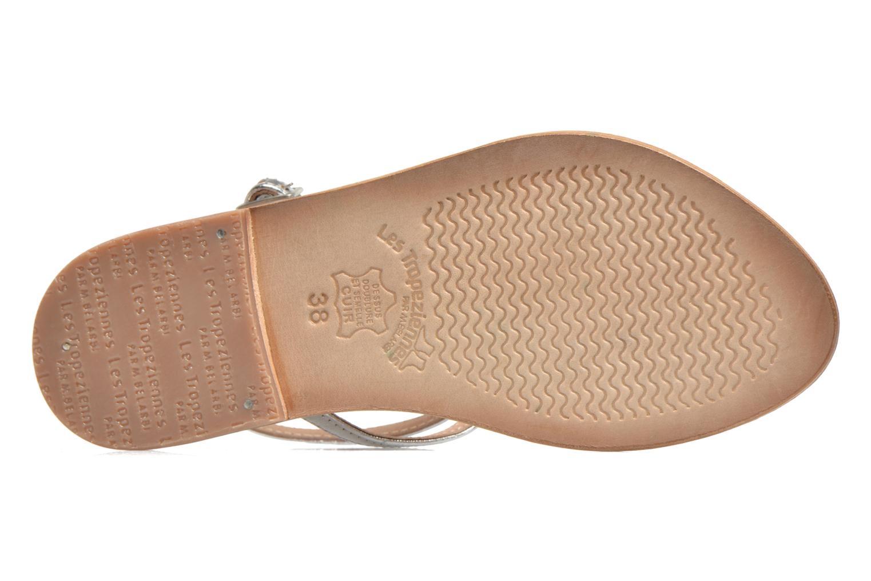 Sandales et nu-pieds Les Tropéziennes par M Belarbi Nesta Bleu vue haut