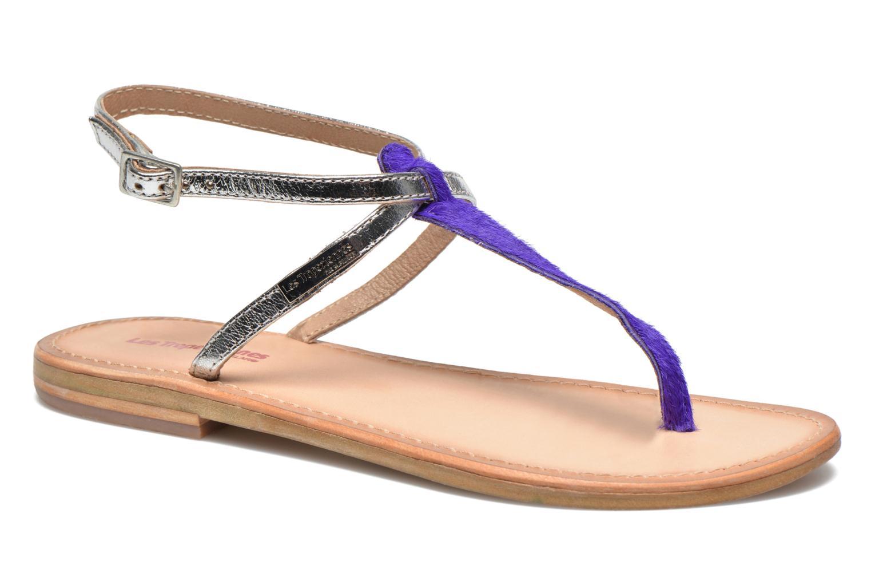 Sandales et nu-pieds Les Tropéziennes par M Belarbi Nesta Bleu vue détail/paire