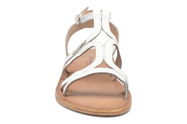 Sandales et nu-pieds Les Tropéziennes par M Belarbi Hayate Blanc vue portées chaussures