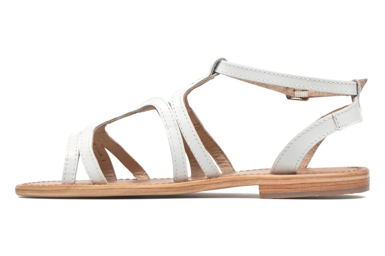 Sandales et nu-pieds Les Tropéziennes par M Belarbi Hayate Blanc vue face