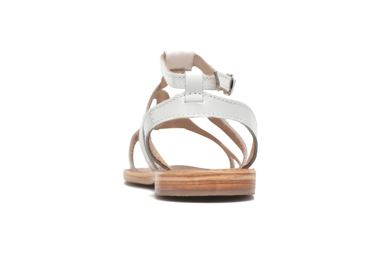 Sandales et nu-pieds Les Tropéziennes par M Belarbi Hayate Blanc vue droite