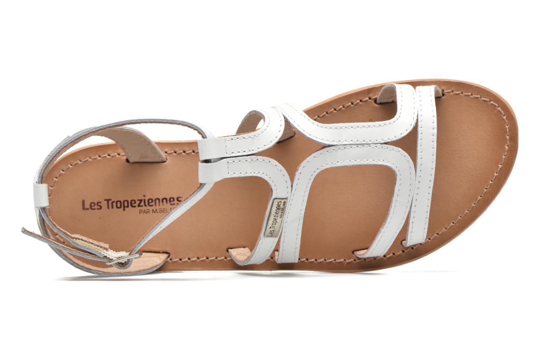 Sandales et nu-pieds Les Tropéziennes par M Belarbi Hayate Blanc vue gauche