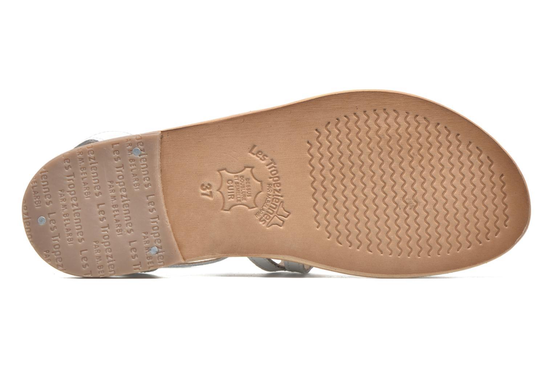 Sandales et nu-pieds Les Tropéziennes par M Belarbi Hayate Blanc vue haut