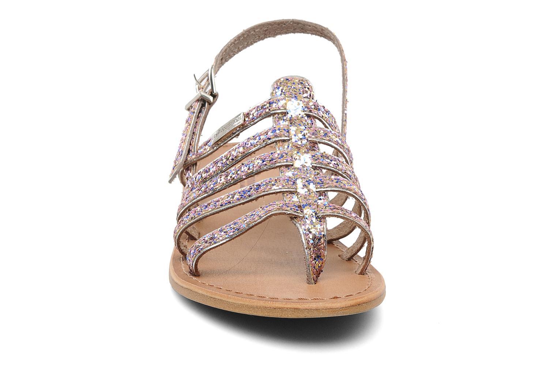 Sandales et nu-pieds Les Tropéziennes par M Belarbi Happy Multicolore vue portées chaussures