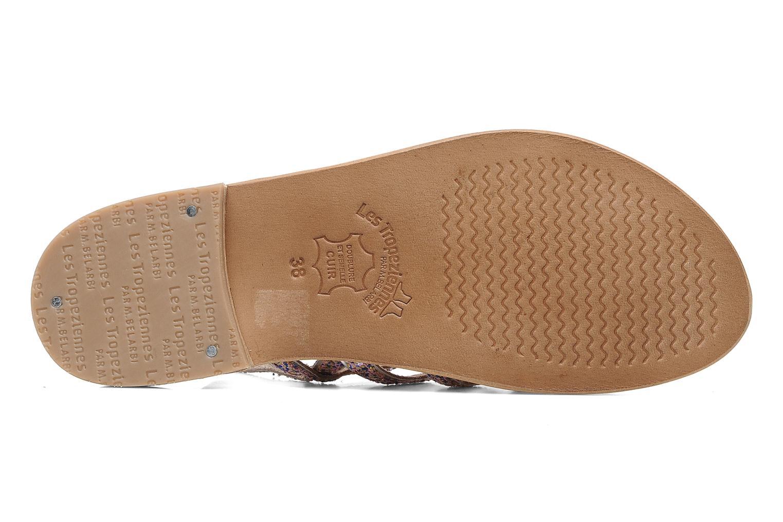 Sandales et nu-pieds Les Tropéziennes par M Belarbi Happy Multicolore vue haut