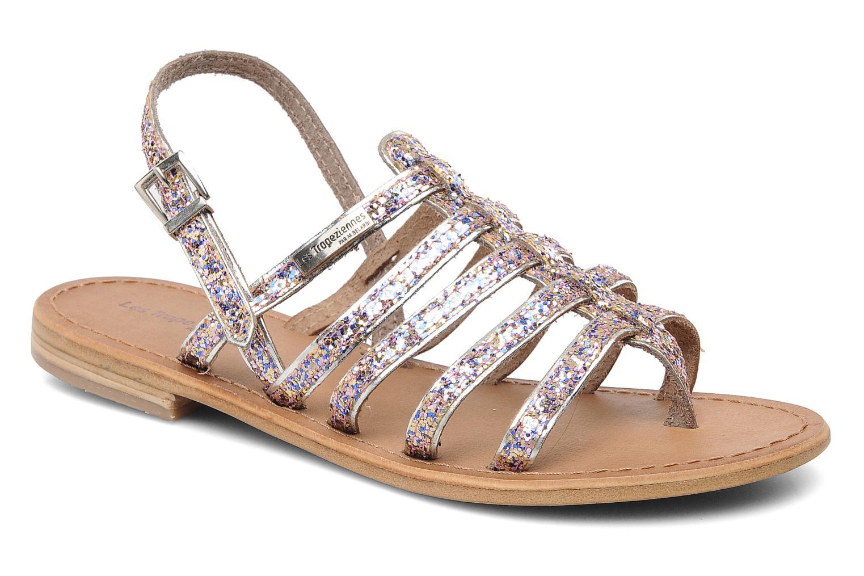 Sandales et nu-pieds Les Tropéziennes par M Belarbi Happy Multicolore vue détail/paire
