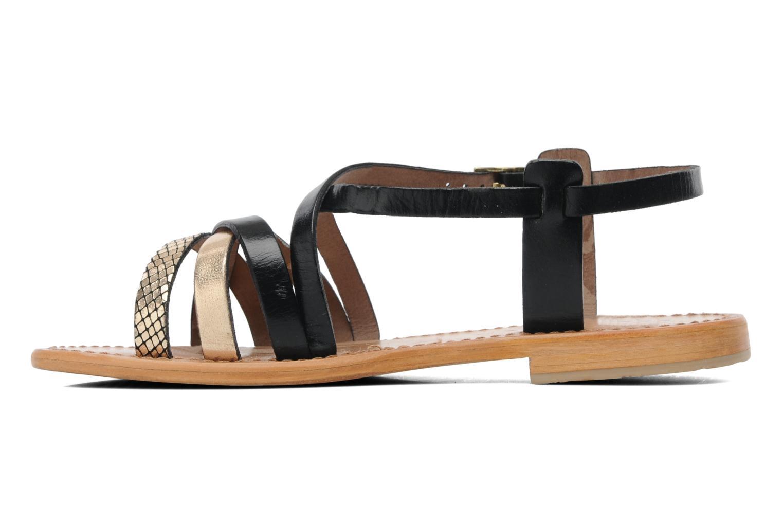 Sandals Les Tropéziennes par M Belarbi Hapax Black front view